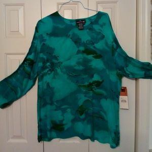 Carole Little Blouse/Skirt set